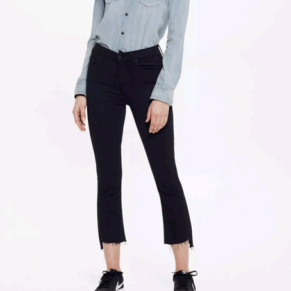 c054688af1a Mother denim Insider Crop Step Fray Not Guilty. M_5b15d48caa5719fad38ae353
